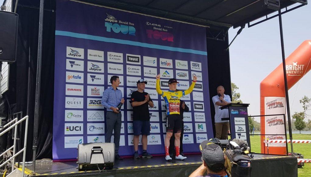 Alberto Dainese vince la fase di apertura dell'Herald Sun Tour