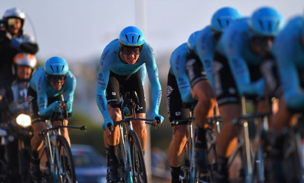 Astana deny working with banned doping doctor Michele Ferrari