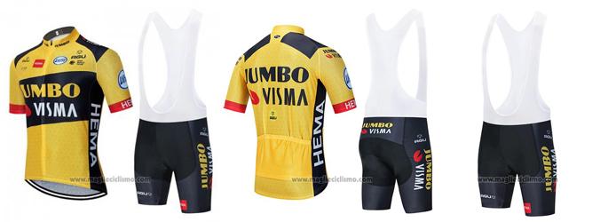 salopette ciclismo Jumbo Visma