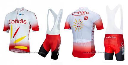 salopette ciclismo Cofidis