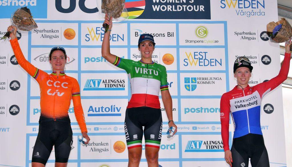 Tour mondiale delle donne della Valgarda Un giorno annullato
