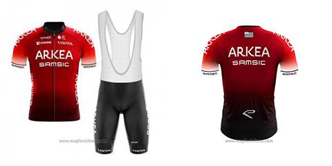 salopette ciclismo Arkea Samsic