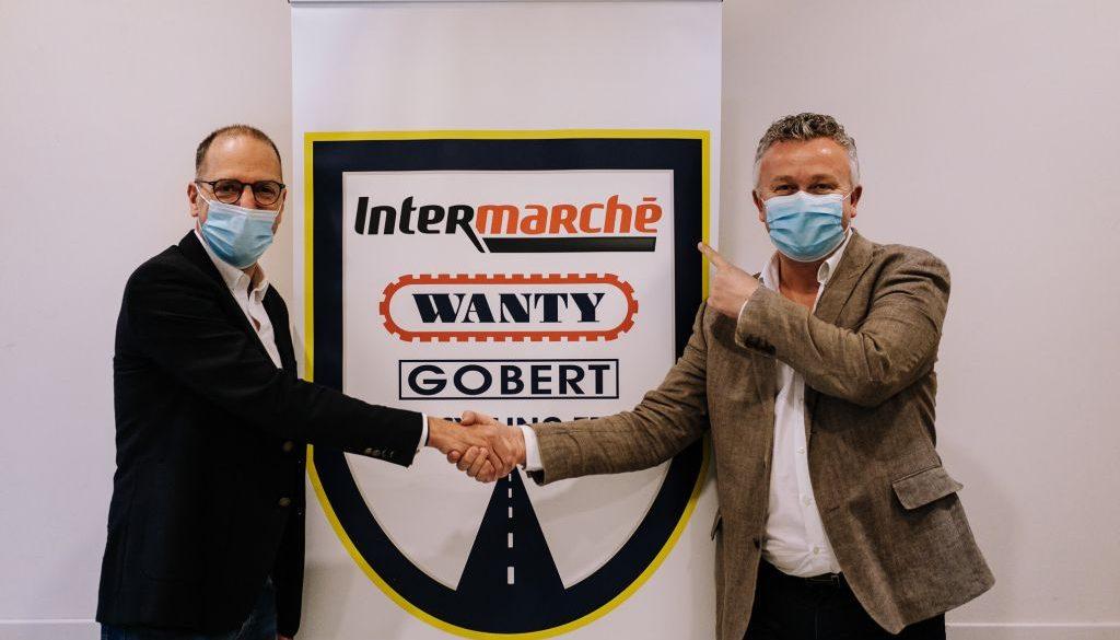 Introdotto nella sponsorizzazione di una grande catena di supermercati francese, il team di Wanti cambierà nome nella nuova stagione